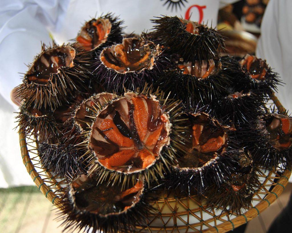 Les garoines, un producte típic de llafranc.